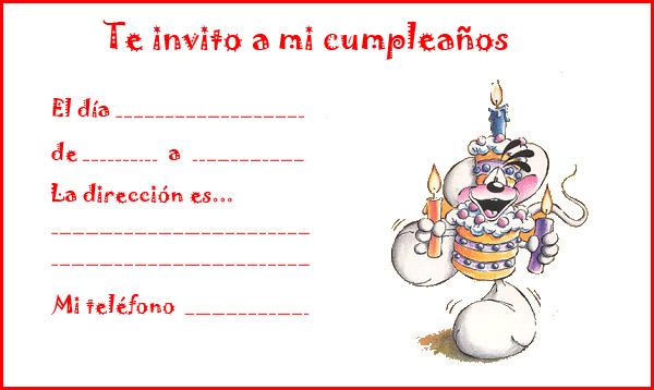 Invitaciones De Cumpleanos 4